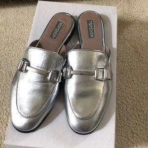 Topshop Shoes - NEW TopShop Kylie Mule Flats Slides